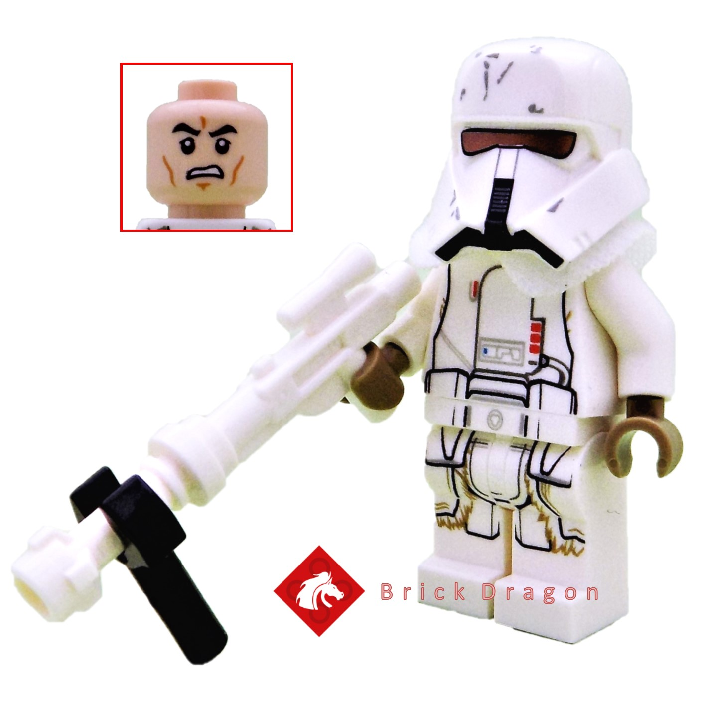 LEGO® Star Wars™ Qi/'ra minifig from 75219